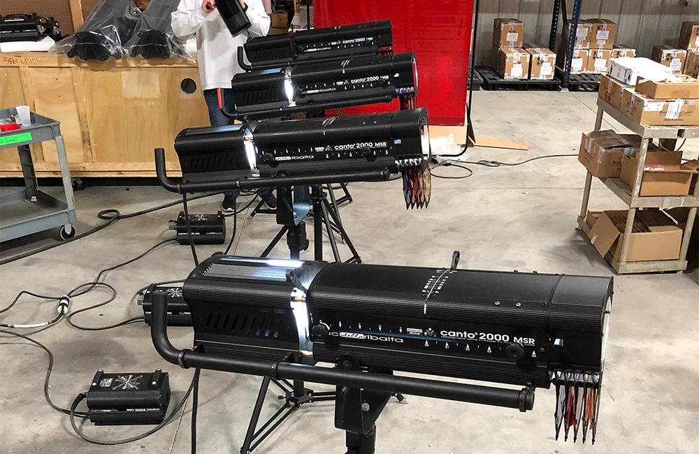 Canto Followspot Production 05