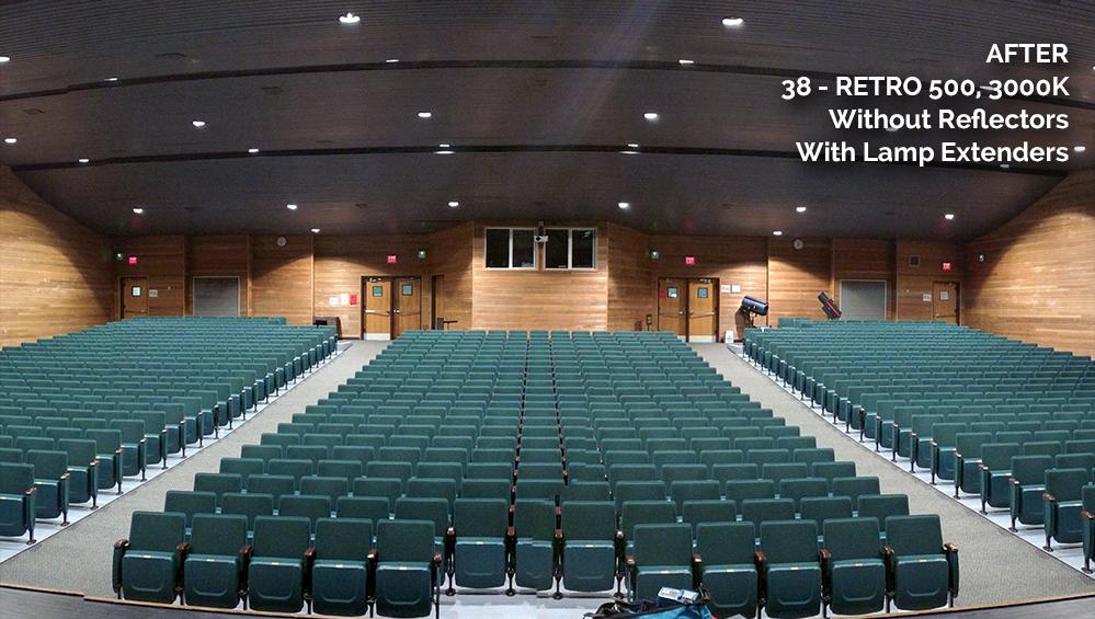 Falls Church High School After CantoUSA RETRO Application Photo