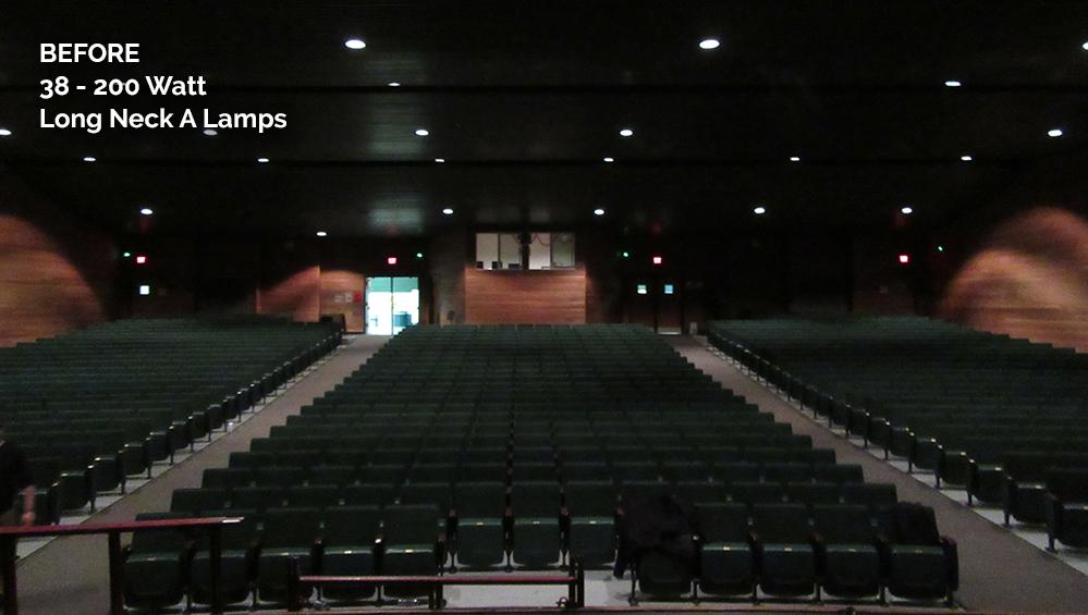 Falls Church High School Before CantoUSA RETRO Application Photo