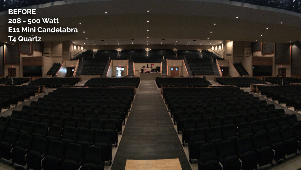 McLean Bible Church Before CantoUSA RETRO Application Photo