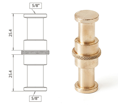 CantoUSA Double Male 5/8 Adapter Photo