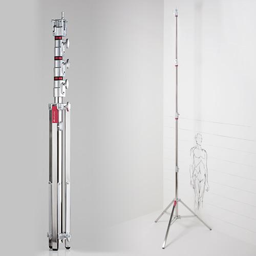 CantoUSA Triple Riser Combo Stand (Chrome Steel) Photo