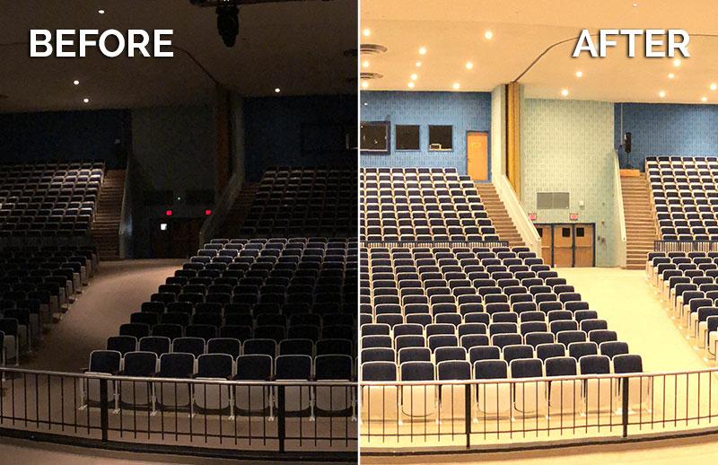 CantoUSA RETRO Install Before After Fairfax High School Blog Photo
