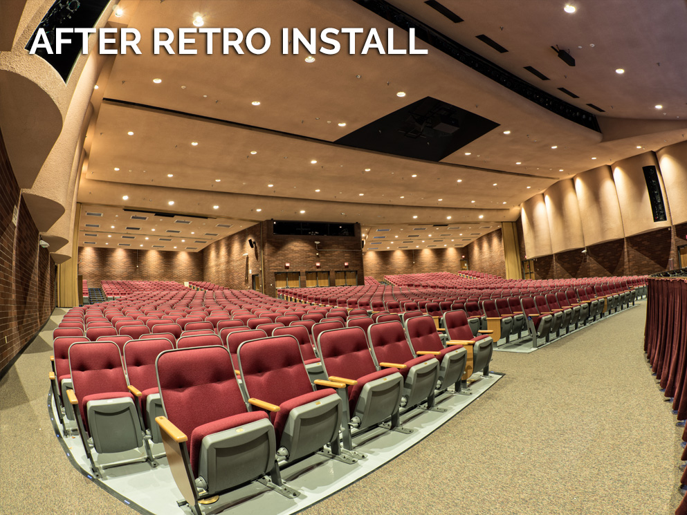 CantoUSA After RETRO Install Red Mountain High School Photo
