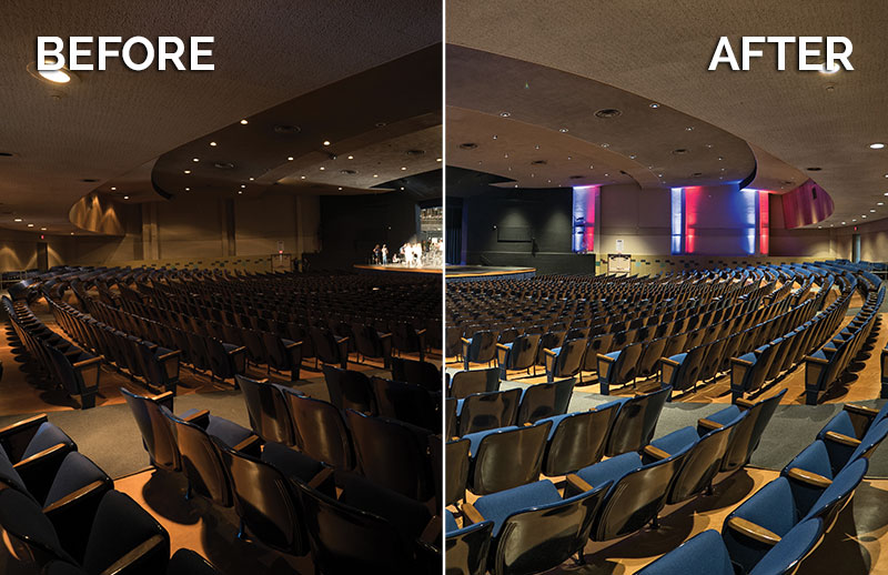 CantoUSA RETRO Install Before After Westwood High School Blog Photo
