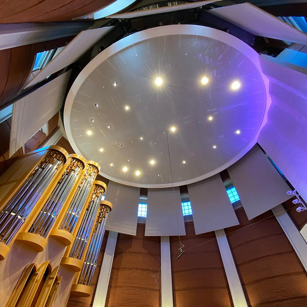 UNCG Organ Recital Hall Blog Article Photo