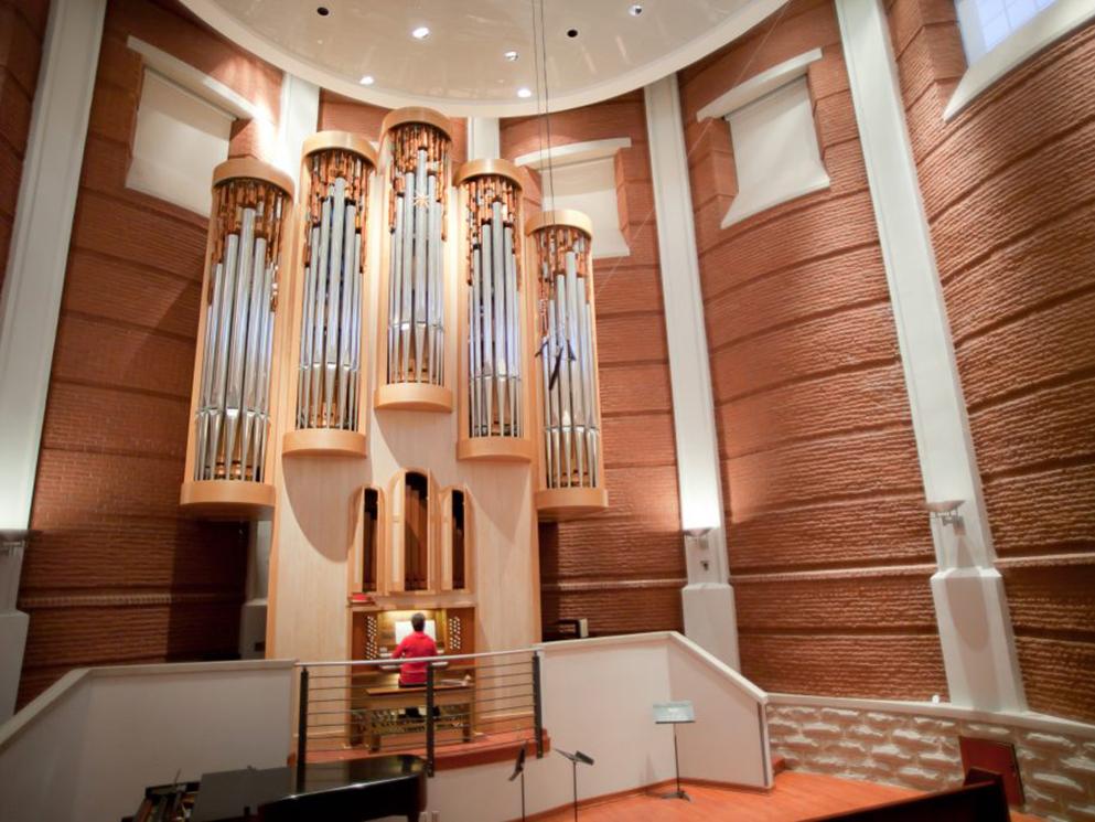 UNCG Organ Recital Hall Blog Feature Photo