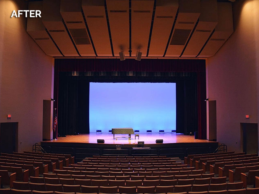 Theater of the Arts UDC Canto USA RETRO-Fusion Install After 02