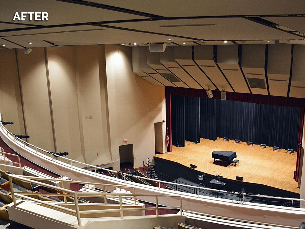 Theater of the Arts UDC Canto USA RETRO-Fusion Install After 03