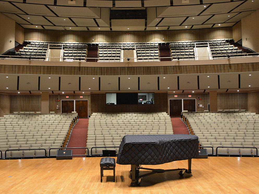 Theater of The Arts University of the District of Columbia Canto USA RETRO Install After
